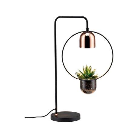 Настольная лампа Paulmann Neordic Fanja 79746, 1xGU10x20W, черный, медь, металл