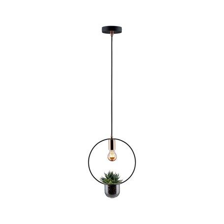 Подвесной светильник Paulmann Neordic Tasja 79748, 1xE27x20W, черный, медь, металл