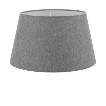 Абажур Eglo 1+1 Vintage 49655, серый, текстиль