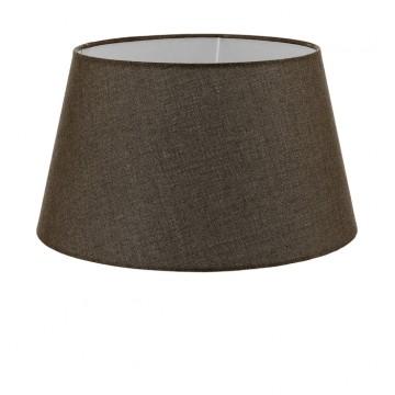 Абажур Eglo 1+1 Vintage 49656, коричневый, текстиль