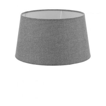 Абажур Eglo 1+1 Vintage 49658, серый, текстиль