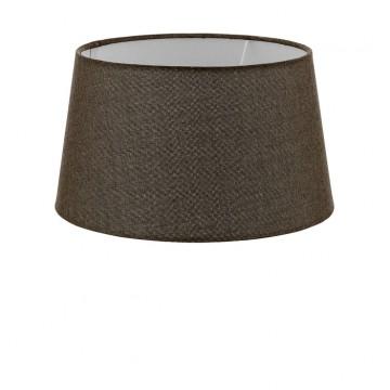 Абажур Eglo 1+1 Vintage 49659, коричневый, текстиль