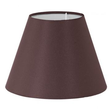Абажур Eglo 1+1 Vintage 49874, коричневый, текстиль