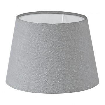 Абажур Eglo 1+1 Vintage 49875, серый, текстиль