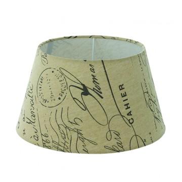 Абажур Eglo 1+1 Vintage 49987, бежевый, текстиль