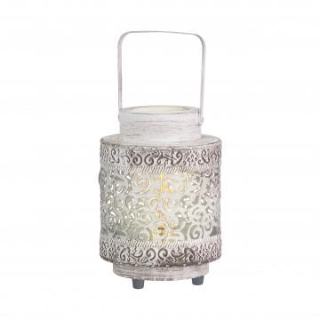 Настольная лампа Eglo Trend & Vintage Ethno Elegance Talbot 49276, 1xE27x60W, белый, металл