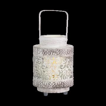 Настольная лампа Eglo Talbot 49276, 1xE27x60W, белый, металл