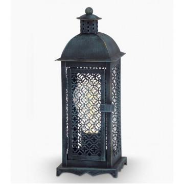Настольная лампа Eglo Winsham 49285, 1xE27x60W, бирюзовый, металл