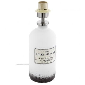Основание настольной лампы Eglo Roseddal 49604, 1xE27x40W, белый, металл, стекло