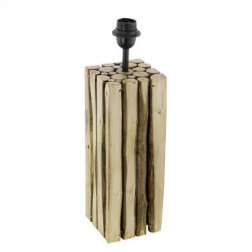 Основание настольной лампы Eglo Trend & Vintage Ribadeo 49831, 1xE27x60W, коричневый, дерево