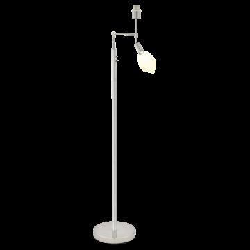 Основание торшера Eglo Berson 49858, 1xE27x60W + LED 2,1W 3000K 250lm, хром, металл