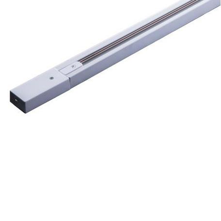 Шинопровод в сборе с питанием и заглушкой Arte Lamp Instyle A530233, белый, металл