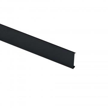 Глухая шторка для модульной системы Ideal Lux FLUO COVER BLINDED 300 191362, черный, металл