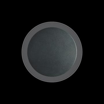 Настенный светодиодный светильник Ideal Lux COVER AP D15 ROUND NERO 195742 (COVER AP1 ROUND SMALL NERO), LED 9W 3000K 943lm, черный, металл, пластик