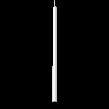 Подвесной светодиодный светильник Ideal Lux ULTRATHIN D100 SQUARE BIANCO 194172 (ULTRATHIN SP1 BIG SQUARE BIANCO), LED 12W 3000K 760lm, белый, металл