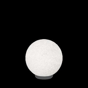 Садовый светильник Ideal Lux DORIS PT1 D38 195476, IP44, 1xE27x60W, белый, пластик