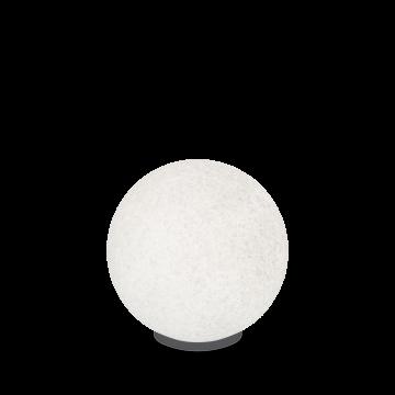 Садовый светильник Ideal Lux DORIS PT1 D48 195483, IP44, 1xE27x60W, белый, пластик