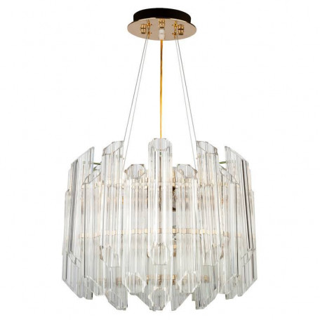 Подвесная люстра L'Arte Luce Luxury Retro Murano L23204.92, 4xE14x40W, металл, стекло