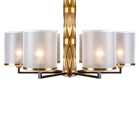 Подвесная люстра L'Arte Luce Luxury Flaire L31406, 6xE27x40W, металл, текстиль