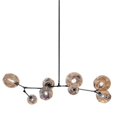 Потолочная люстра L'Arte Luce Luxury Branching L32408, 8xE27x60W, металл, стекло