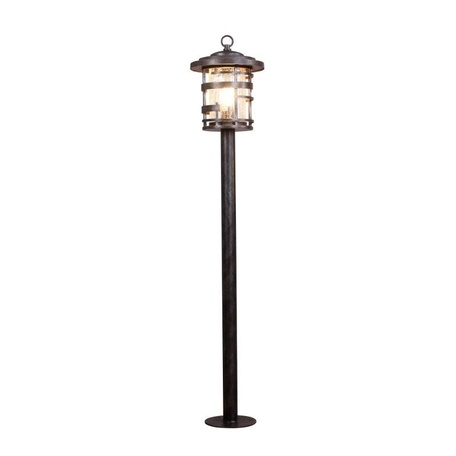 Уличный фонарь L'Arte Luce Castle L70885.07, IP43, 1xE27x100W, металл, стекло