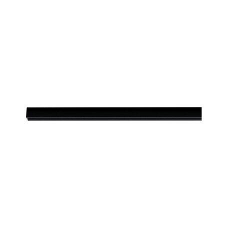 Шинопровод Paulmann URail 96903, черный, металл