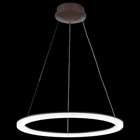 Подвесной светодиодный светильник с пультом ДУ Citilux Электрон CL71065RS 3000-4200K