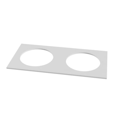 Декоративная рамка Maytoni Kappell DLA040-03W, белый, металл