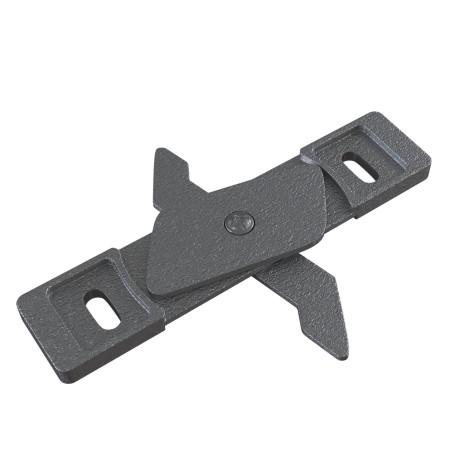 Фиксатор для накладного монтажа магнитной системы Maytoni TRA004HS-21S, серебро, металл