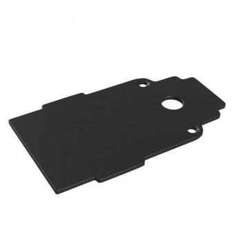 Концевая заглушка для магнитного шинопровода Maytoni TRA004EC-22B, черный, металл