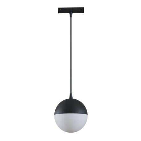 Подвесной светодиодный светильник для магнитной системы Maytoni Busbar trunkings TR018-2-10W4K-B, LED 10W 4000K 1000lm CRI90, черный, металл, металл с пластиком