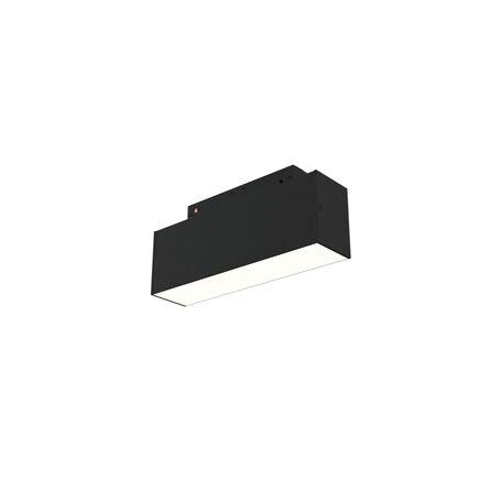 Светодиодный светильник для магнитной системы Maytoni Busbar trunkings TR012-2-7W4K-B, LED 7W 4000K 400lm CRI90, черный, металл, металл с пластиком