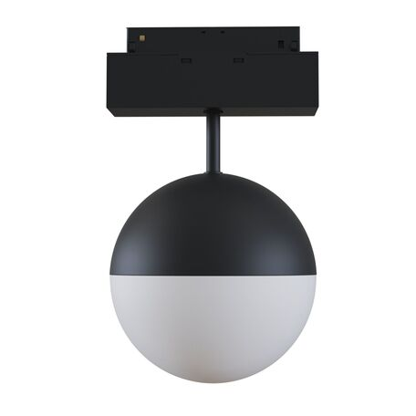 Светодиодный светильник Maytoni Kiat TR017-2-10W4K-B, LED 10W 4000K 1000lm CRI90, черный, металл, металл с пластиком, пластик с металлом