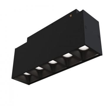Светодиодный светильник для магнитной системы Maytoni Technical Magnetic Track System Point TR014-2-10W4K-B, LED 11W 4000K 750lm CRI90, черный, металл