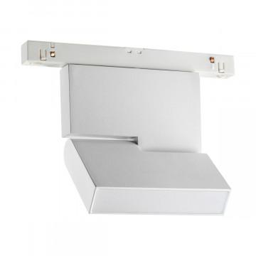 Светодиодный светильник с регулировкой направления света для шинной системы Novotech Shino Flum 358466, LED 10W 4000K 800lm, белый, металл