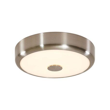 Потолочный светодиодный светильник Citilux Фостер-1 CL706121, LED 20W 3000K 1300lm, матовый хром, пластик