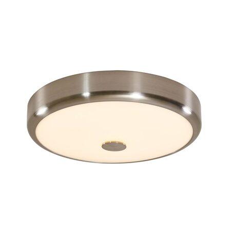 Потолочный светодиодный светильник Citilux Фостер-1 CL706131, LED 30W 3000K 1950lm, матовый хром, пластик