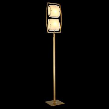 Торшер Citilux Берген CL161923, 2xE27x75W, бронза, белый, металл, стекло - миниатюра 2