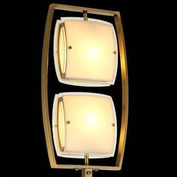 Торшер Citilux Берген CL161923, 2xE27x75W, бронза, белый, металл, стекло - миниатюра 4