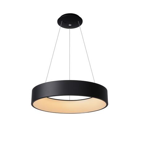 Подвесной светодиодный светильник Lucide Talowe LED 46400/42/30, LED 39W 3000K 2340lm CRI80, черный, металл