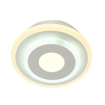 Потолочный светильник с пультом ДУ Favourite F-Promo LEDolution 2271-1W 3000-6400K, белый, металл, пластик