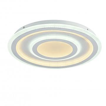 Потолочный светильник с пультом ДУ Favourite F-Promo LEDolution 2272-5C 3000-6400K, белый, металл, пластик - миниатюра 1