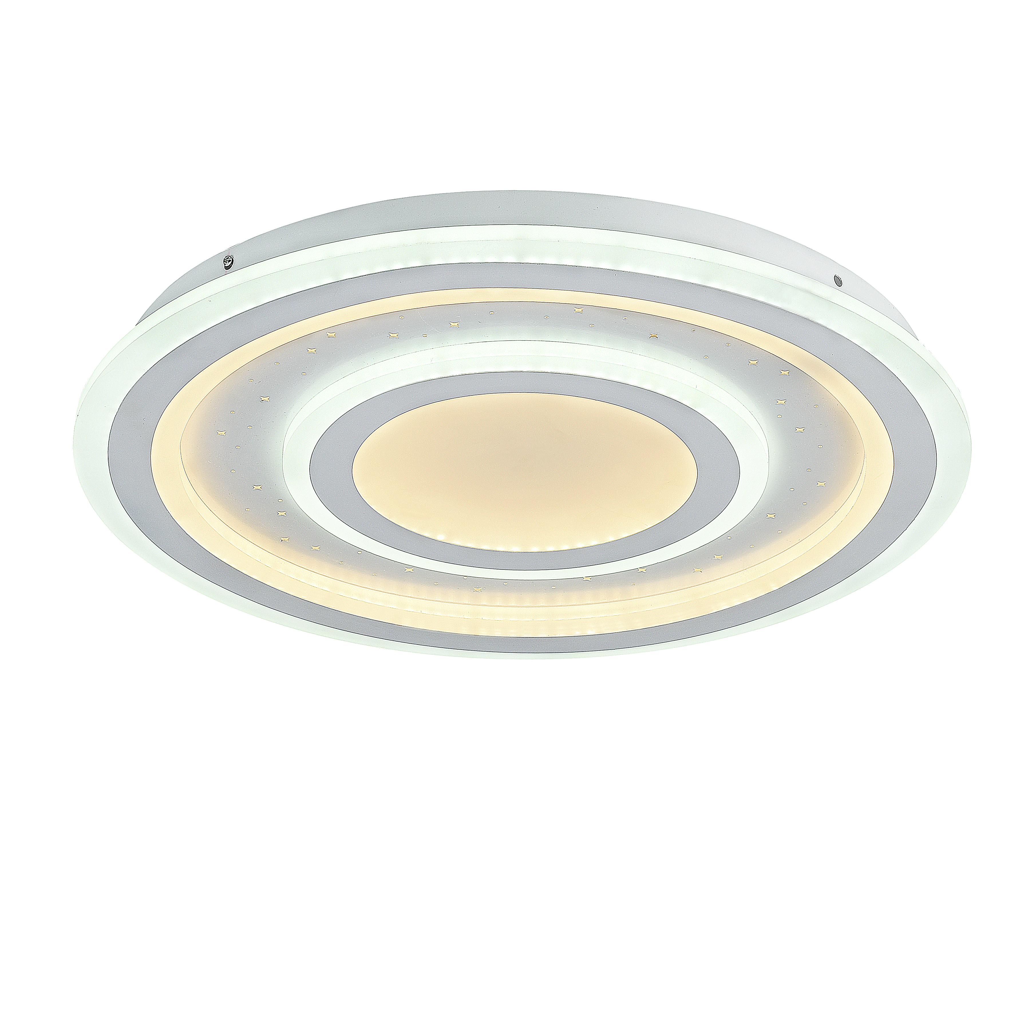 Потолочный светильник с пультом ДУ Favourite F-Promo LEDolution 2272-5C 3000-6400K, белый, металл, пластик - фото 1