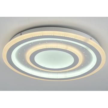 Потолочный светильник с пультом ДУ Favourite F-Promo LEDolution 2272-5C 3000-6400K, белый, металл, пластик - миниатюра 2