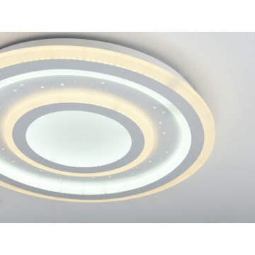 Потолочный светильник с пультом ДУ Favourite F-Promo LEDolution 2272-5C 3000-6400K, белый, металл, пластик - миниатюра 4