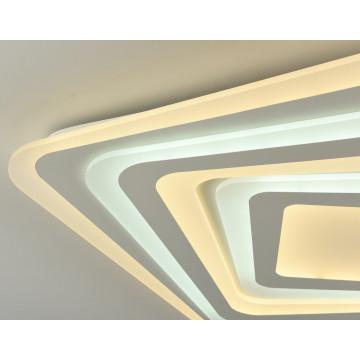 Потолочный светильник с пультом ДУ Favourite F-Promo LEDolution 2279-8C 3000-6400K, белый, металл, пластик - миниатюра 2