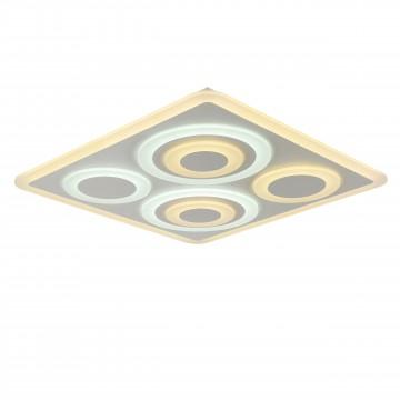 Потолочный светильник с пультом ДУ Favourite F-Promo LEDolution 2280-8C 3000-6400K, белый, металл, пластик