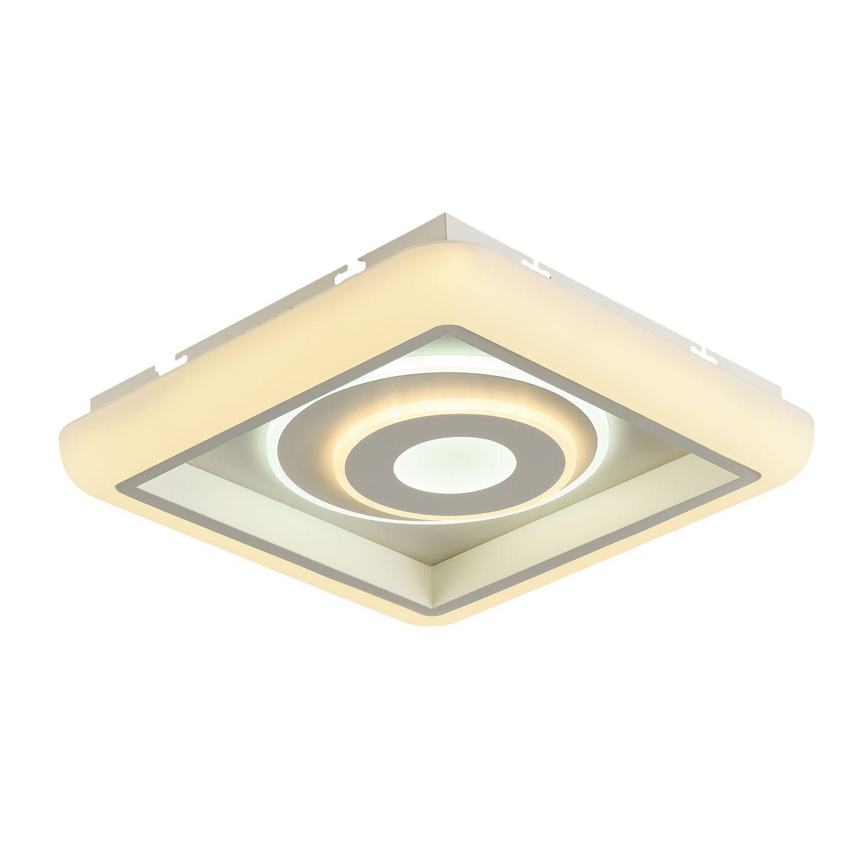 Потолочный светильник с пультом ДУ Favourite F-Promo LEDolution 2283-5C 3000-6400K, белый, металл, пластик - фото 1