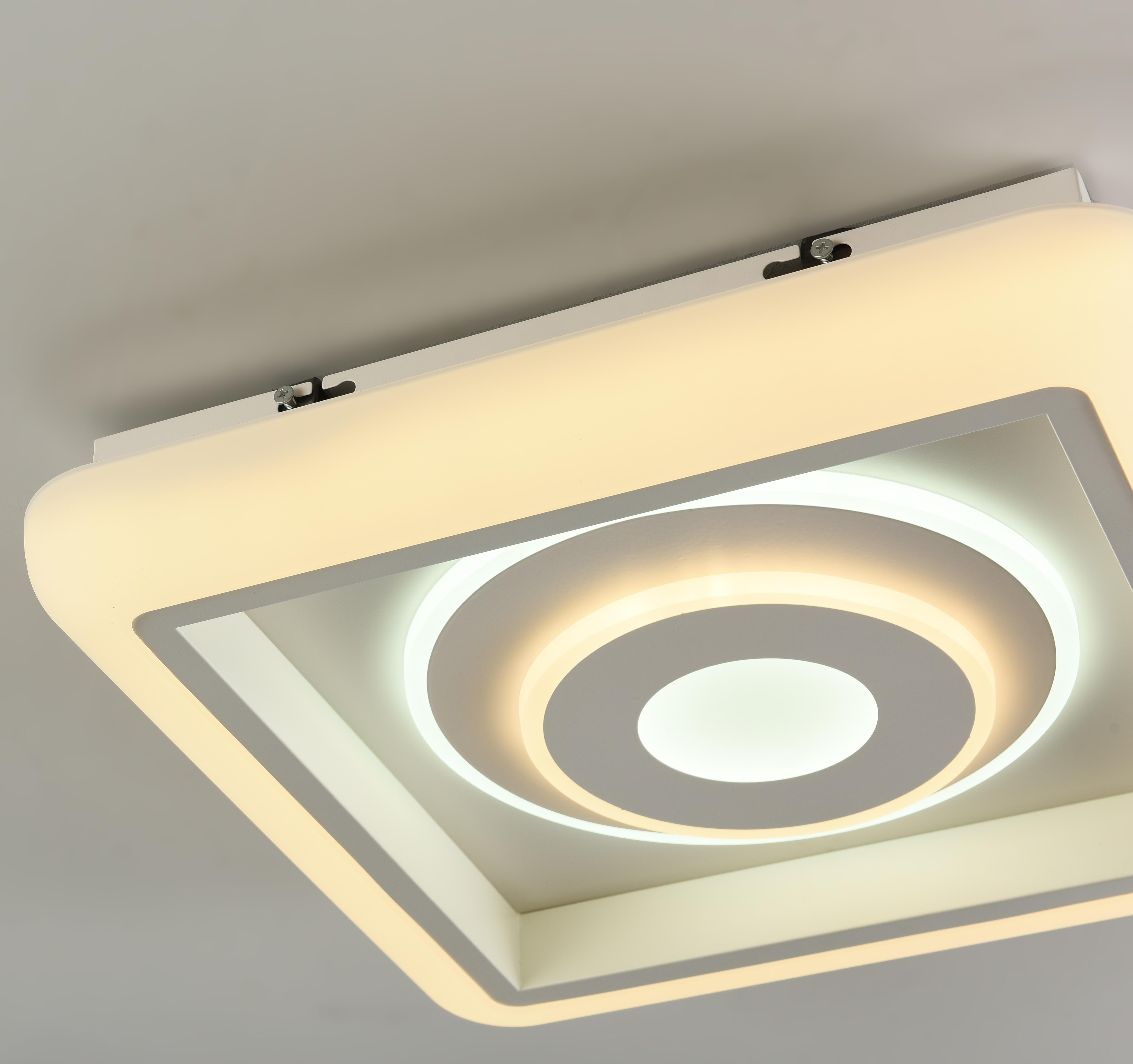 Потолочный светильник с пультом ДУ Favourite F-Promo LEDolution 2283-5C 3000-6400K, белый, металл, пластик - фото 2