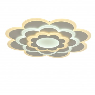 Потолочный светильник с пультом ДУ Favourite F-Promo LEDolution 2286-8C 3000-6400K, белый, металл, пластик